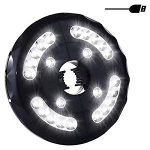 LED Patio Parasol Light, Miaoo USB Rechargeable 24 LEDs Cordless Umbrella Pole