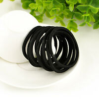 Useful Party Women Girls Fashion Hair Band Black Plastic New Rubber Band FT88