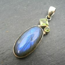 "Less than 13"" Labradorite Fine Necklaces & Pendants"