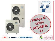 Pompa di calore monoblocco aria acqua reversibile THERMITAL mod. AQUABOX 12 12kW