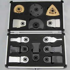 13pcs/set Blades Case Set Fein Multimaster Bosch Makita Dremel power Multitool