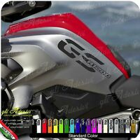2 Adesivi Fianco Serbatoio Moto BMW R 1200 gs LC GS1200 monocolore