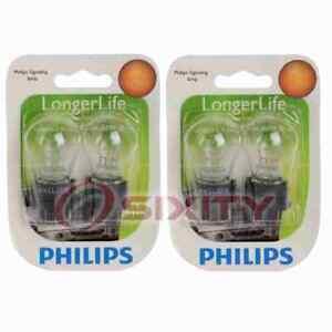 2 pc Philips Brake Light Bulbs for Ford Crown Victoria Edge Escape we