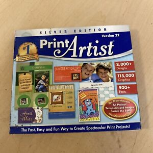 Print Artist 22 Silver Edition (Jewel Case) NEW SEALED