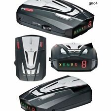 Laser Radar Detector Police Band 360-Degree Protection Speed Car Cobra 14 Band