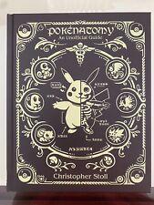 Pokenatomy Unofficial Pokemon Anatomy Guide Hardcover Book Chris Stoll RARE