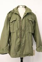 OG-107 Vietnam 1973 Cold Weather Field Coat M-65 US Army Military Med Reg Rambo