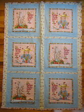 Mary Engelbreit Handmade Small Quilt Blanket Wall Hanging Wonderful One of Kind