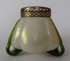 Czech/Bohemia Date-Lined Glass Bowl Antique Original