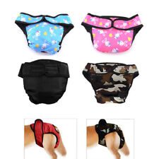 1pc Female Pet Dog Physiological Pants Menstrual Sanitary Nappy Diaper