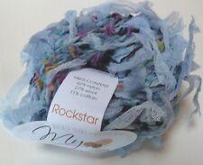Muench - Rockstar #5201 Blue Iris Bulky Novelty Yarn