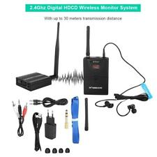 Wireless In Ear Monitor Sistema On Stage Palco Audio Trasmettitore Ricevitore