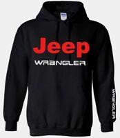 Jeep Wrangler Sweatshirt Hooded men sweat shirt sweater Hoodie black