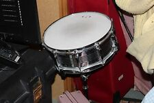 GP Percussion Snare Drum - Case with Backstraps and Stand - Good Condition