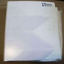 Bowe Group Master Wiring Diagram Manual
