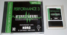Korg WPC-13 Performance 3 Card for Wavestation Ws Rare