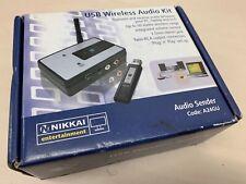 Nikkai A24GU - USB wireless audio - Streaming sender kit - Sender & Reciever
