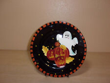 """LAURIE GATES WARE HALLOWEEN 8-5/8"""" PLATE GHOST HALLOWEEN"""