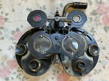Antique General Optical Co Genothalmic Refractor Phoropter Eye Dr Ophthalmology