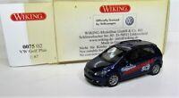 Wiking 1:87 VW Golf VI Plus OVP 0075 02 shadowblue perleffekt - Fahrschule