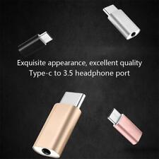 4PCS Type-C To 3.5mm AUX Jack Earphone USB-C Headphone Audio Adapter r O5N8