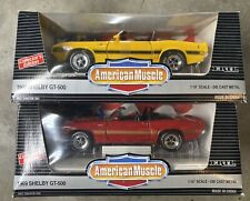 ERTL American Muscle 1:18 - 1969 Shelby GT-500 - Red & Yellow - FREE Shipping!