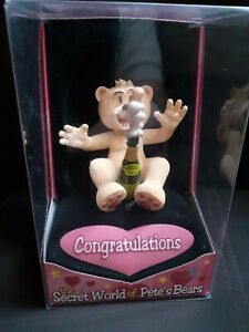 BAD TASTE BEARS FIGURINE - CONGRATULATIONS