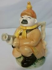 "Roy Simpson for J. Luber Collector's Teapot ""The Huntsman"" Euc Rare 8.5"" Tall"