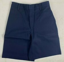 K12 Gear Boys School Uniform Shorts Nwt 6446Bs Navy or Gray Var. Sizes Uni11