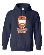 """Carlos Beltran Houston Astros """"Fear The Beard"""" jersey shirt Hooded Sweatshirt"""