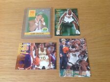 Job Lot gary payton nba basketball TRADING CARDS INC ROOKIE CARTE
