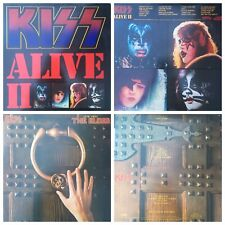 KISS GENE SIMMONS ALBUMS VINYLS LP RECORDS (Auction#42)  $22/each HEAVY METAL