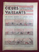 Tintin et Milou en Orient 1935 Coeurs Vaillants N 23 Hergé