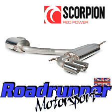 "Scorpion Golf GTI MK5 Exhaust 3"" Stainless Cat Back System Resonated Quieter New"