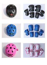 Kid's Skateboard Longboard Helmet and Knee & Elbow Pads Wrist Guard Combo Set