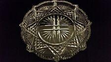 "Waterford Crystal 8"" Round Dish~Plate~Vanity Tray~Ireland~Vintage"