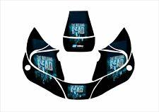 Miller Titanium Classic 9400 1600 Vsi I Open Face Helmet Decal Welding Dead