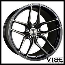 "18"" STANCE SF03 18X8.5 BLACK FORGED CONCAVE WHEELS RIMS FITS AUDI C5 A6"
