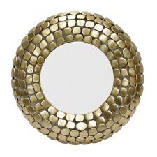 Round Wall Mirror GOLD Finish frame GOLD ROUND MIRROR WITH FRAME DESIGN