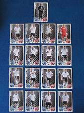 Topps Match Attax Cards - Lot of 17 - Fulham - 2010/11 - Green Back