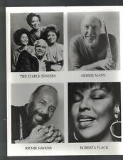 Rhino Jazz Gallery Photo Staple Singers Richie Havens Herbie Mann Roberta Flack
