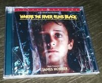 NEW Sealed WHERE THE RIVER RUNS BLACK Soundtrack CD Limited Edition JAMES HORNER