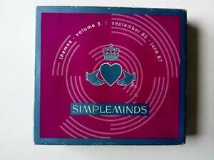 Simple Minds Themes - Volume 3 : September 85 - June 87 5 CD Digipak Set