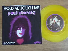 """KISS (PAUL STANLEY) -  HOLD ME TOUCH ME    RARE YELLOW VINYL 7"""""""