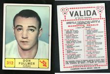 Don Fullmer (USA) Panini Boxing CARD 1968! MINT n.312! Valida