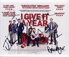 [8535] I GIVE IT A YEAR Cast Shot signed by 6 AFTAL