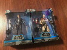 Disney Store Star Wars Elite Series Sergeant Jyn Erso and Baze Malbus