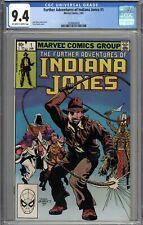 The Further Adventures of Indiana Jones #1 CGC 9.4 NM