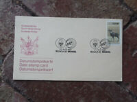 1982 SOUTH AFRICA STAMP CARD BELGICA 82