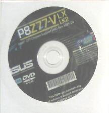 original asus Mainboard Treiber CD DVD P8Z77-V LX LK2 Windows 7+ 8 Vista WIN NEU